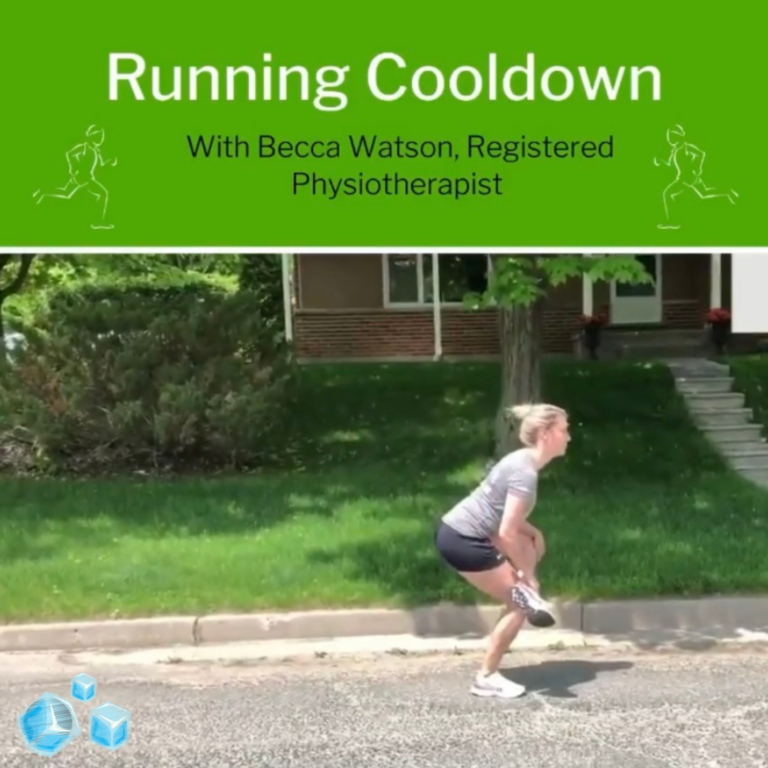 Cool Down Routine for Runners - By Becca Watson, Registered Physiotherapist