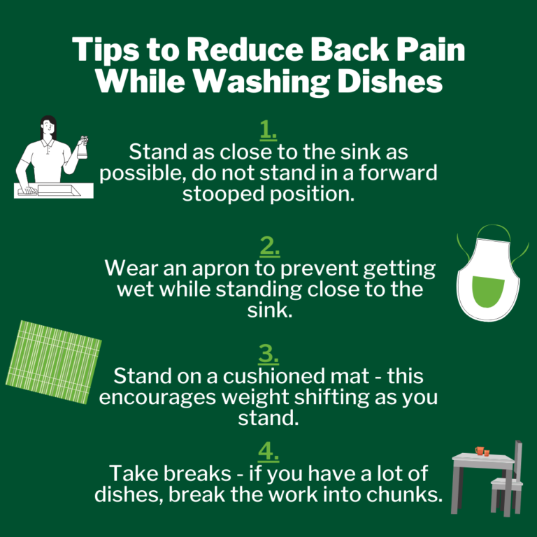 Washing The Dishes With Back Pain - By Dr. Jared Barrieau, Chiropractor