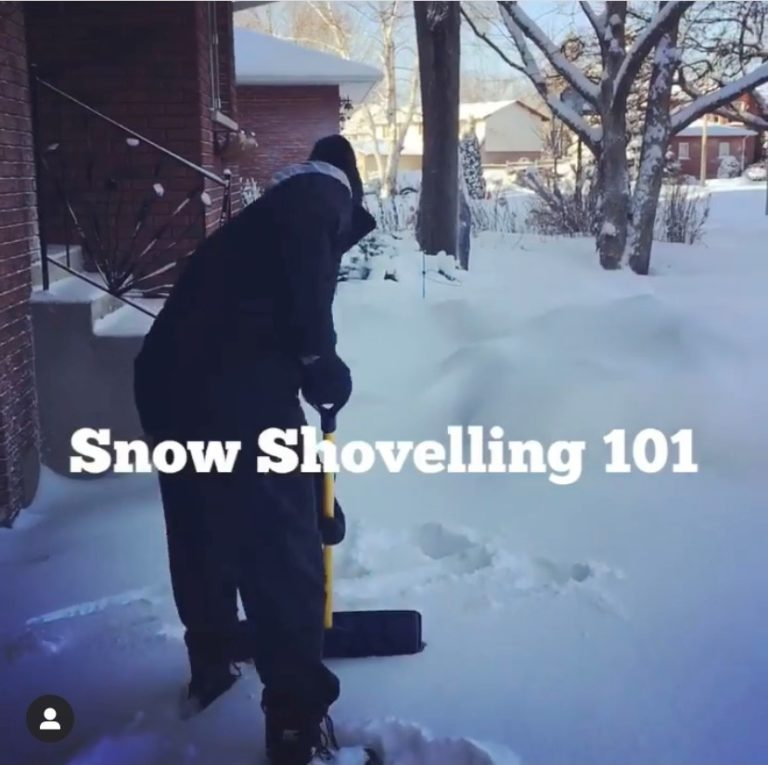 Snow Shoveling 101 - With Michael Williams and Dr. Jared Barrieau